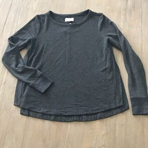 NWT LOFT Lou & Grey Casual Athletic Leisure Top